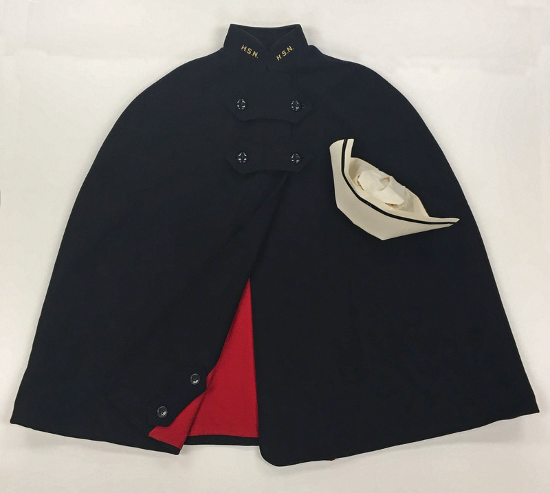 Harris School of Nursing hat and cape