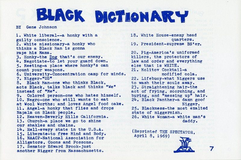 The Black Dictionary