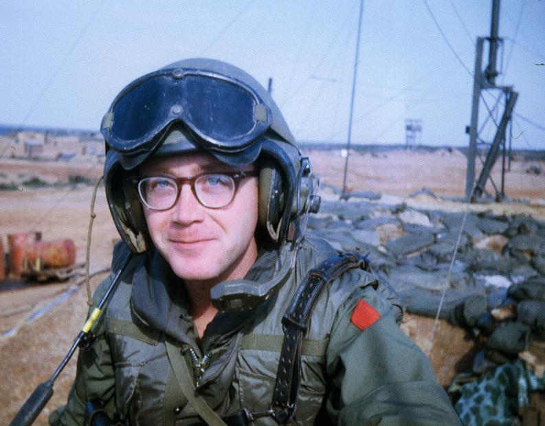 Photograph of James B. Evans in Vietnam